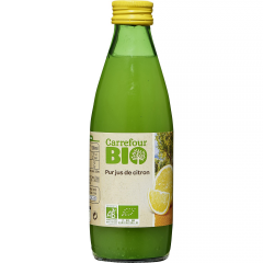 Citronada bio Carrefour 250ml