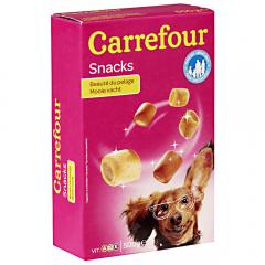 Snack pentru caini adulti Carrefour 500g