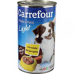 Pateu light caini adulti Carrefour 1230g