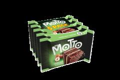 Napolitane cu crema de alune&cacao My Motto 5x34g