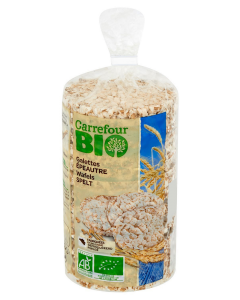 Tartine grau intreg Carrefour Bio 100g