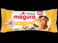 Croissant cu crema de cacao si vanilie Magura 65g