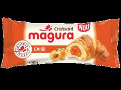 Croissant cu umplutura de crema de caise Magura 65g