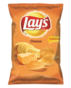 Chipsuri din cartofi cu gust de cascaval Lay`s