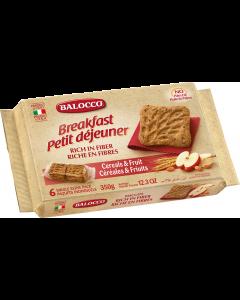 Biscuiti cu cereale si mar Balocco 350g