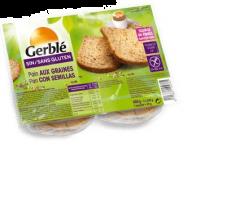 Paine fara gluten cu seminte Gerble 400g