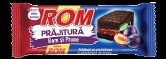 Prajitura cu crema de rom si prune Rom 35g
