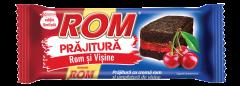 Prajitura cu crema de rom si visine Rom 35g