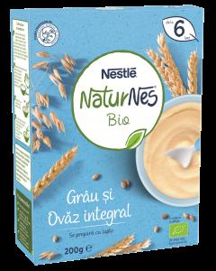 Cereale bio grau si ovaz integral Nestlé® Naturnes 200g