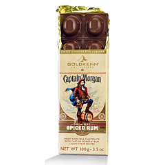 Ciocolata cu rom Captain Morgan Gold 100g