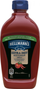 Ketchup extra iute  Hellmann`s 485g