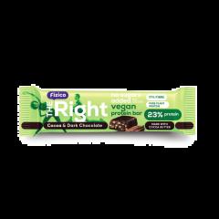 Baton proteic cu cacao Go Vegan Fizico 40g