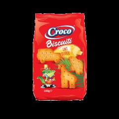 Biscuiti cu unt Zoo Croco 100g