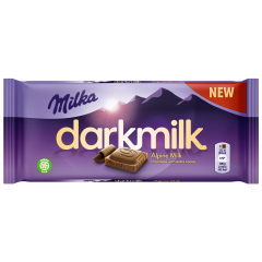 Ciocolata neagra cu lapta Milka 85g