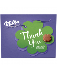 Praline cu crema cacao Milka Thank You 165g