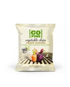 Chips bio de legume Go Pure 90g