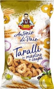 Covrigei cu masline si ceapa Antonio di Vaio 100g