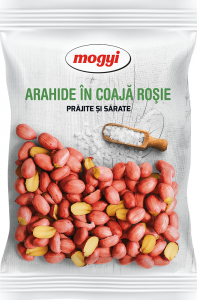 Arahide in coaja rosie prajite si sarate Mogyi 300g