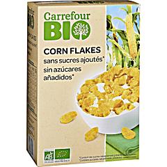 Fulgi de porumb Carrefour Bio 500g