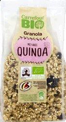 Granola musli cu quinoa Carrefour Bio 375g
