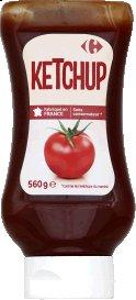 Ketchup natur Carrefour 560g