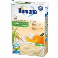 Cereale cu fulgi de orez si dovleac Humana 200g
