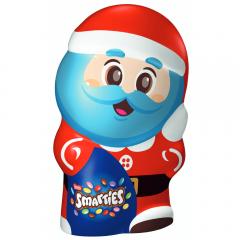 Figurina de ciocolata Mos Craciun Smarties 175g