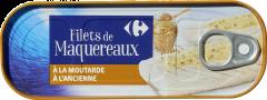 File de macrou cu mustar Carrefour 176g