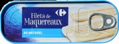 File macrou in suc natur Carrefour 176g