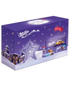 Ciocolata pachet mix steluta Craciun Milka 522g