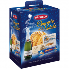 "Pachet Craciun Balocco ""Concerto di Natale"" 1800g"