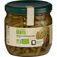 Fasole verde Carrefour Bio 370g