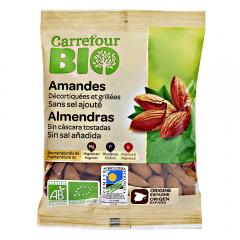 Migdale decojite si prajite Carrefour Bio 90g