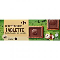 Biscuiti cu unt si ciocolata Carrefour 150g
