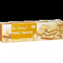 Biscuiti cu unt fara gluten Carrefour 130g