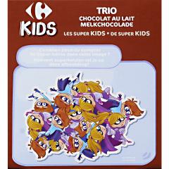 Biscuiti cu ciocolata lapte Carrefour Kids 225g