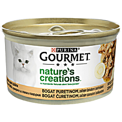 Hrana umeda pentru pisici curcan Gourmet Nature's Creations 85g