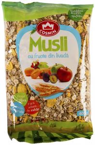 Musli cu fructe din livada Cosmin 400g