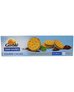 Biscuiti sandvis crocanti ciocolata, fara zahar Gerble Glucoregul 185g