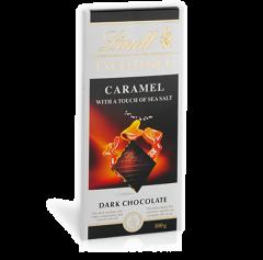 Ciocolata cu caramel si sare de mare Lindt 100g