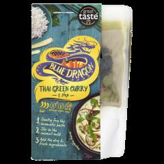 Pachet sos curry verde Thai Blue Dragon 253g