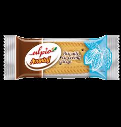 Biscuiti cu crema de cacao Ulpio 26g