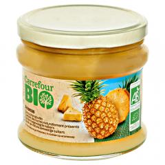 Compot ananas Carrefour Bio 450ml