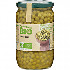 Mazare fina Carrefour Bio 720ml