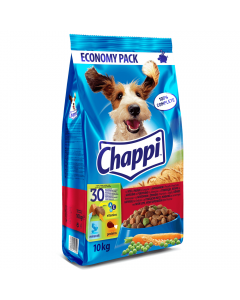 Hrana uscata cu vita si pasare Chappi 10kg