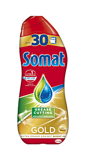 Detergent lichid pentru masina de spalat vase Somat Gold Gel, 540ml