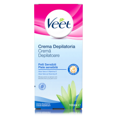 Crema depilatoare cu aloe vera si Vitamina E Veet 100ml