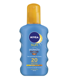 Lotiune spray protect&bronze SPF20 Nivea 200ml