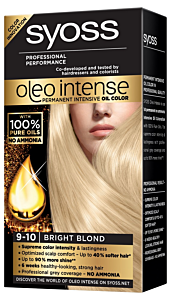 Vopsea de par Syoss oleo intense 9-10 blond luminos