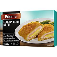 Cordon blue de pui Edenia 250g